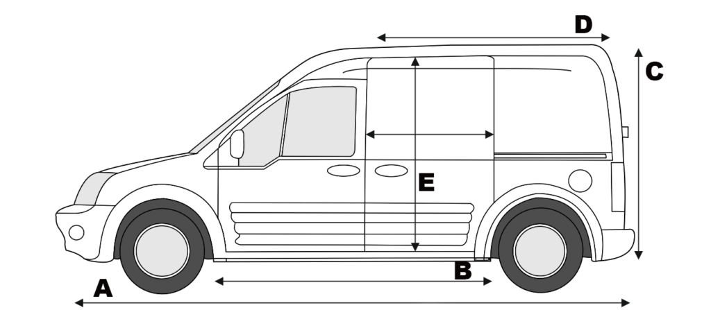 Will a dirt bike fit in a Ford Transit Connect