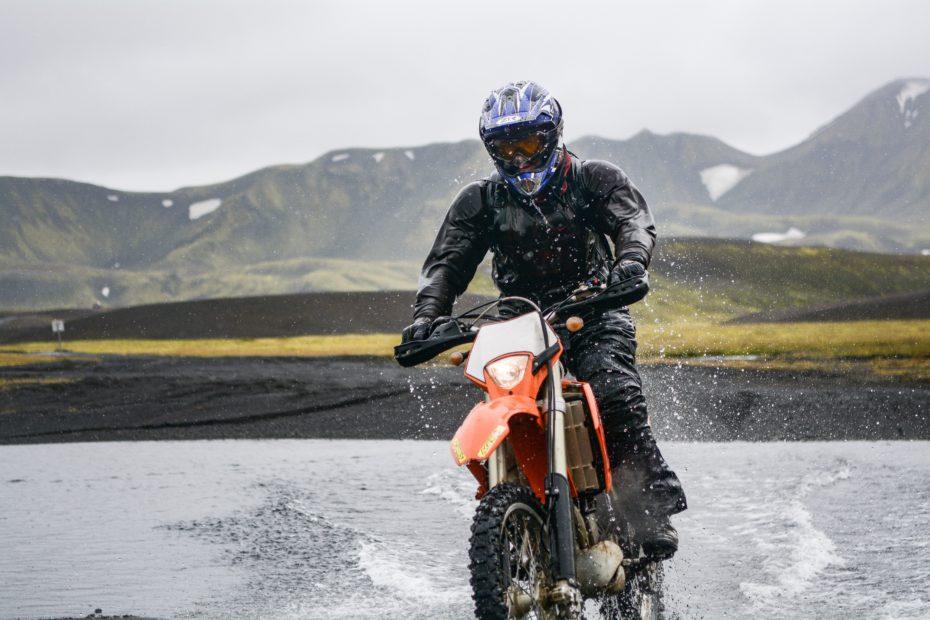 How dirt bike suspension works