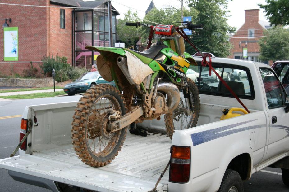 Dirt Bike Tiedown Straps