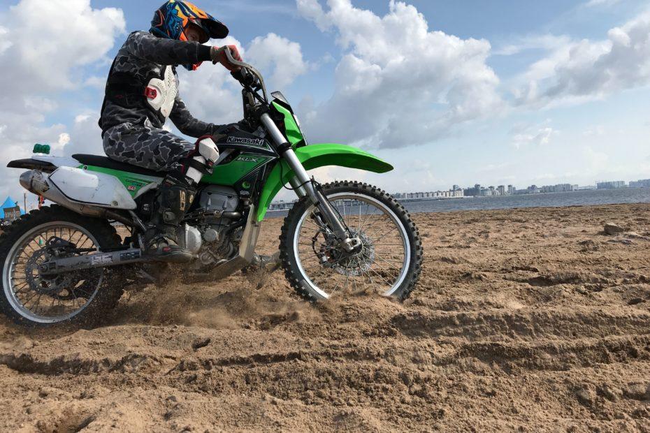 When to change dirt bike tire
